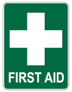 first-aid-sign-green
